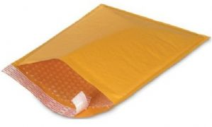 PADDED ENVELOPES GOLD SIZE 000 - INTERNAL 105X165MM - X200